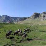 モンゴルで地球経営の夢を走らせる