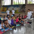 中米エルサルバドルの公立学校での脳教育導入の成果を国連で発表