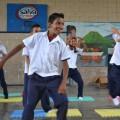 中米エルサルバドル公立学校で脳トレーニング導入