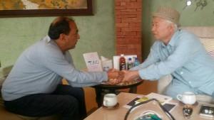 『四つの約束』の著者で、ベストセラー作家ドン・ミゲル ルイス氏との出会い