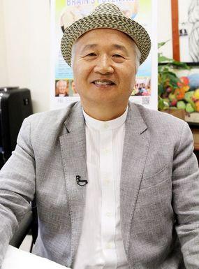 2015.9.13. 脳教育カンファレンスを終え、記者の質問に答える李承憲学長