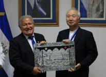 2018.9.12 エルサルバドルのサルバドール・サンチェス・セレン大統領(当時)と